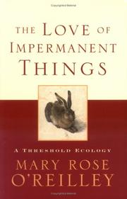 Cover of: The love of impermanent things