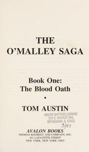 Cover of: The O'Malley Saga: Book One