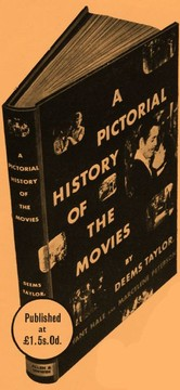 Cover of: A pictorial history of the movies