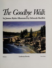 Cover of: The goodbye walk