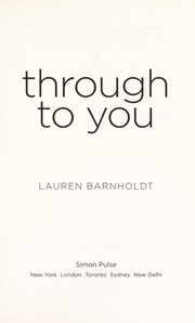 Cover of: Through to you