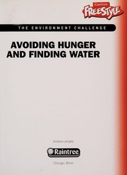 Cover of: Avoiding hunger and finding water