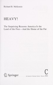 Cover of: Heavy!