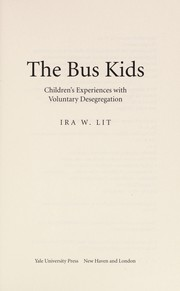 Cover of: The Bus Kids | Ira Lit