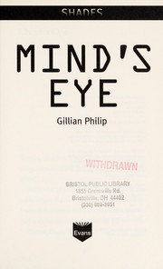 Cover of: Mind's eye | Gillian Philip
