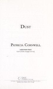 Cover of: Dust | Patricia Daniels Cornwell