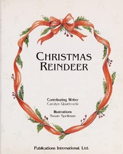 Cover of: Christmas reindeer