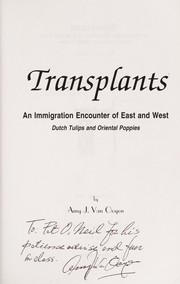 Cover of: Transplants