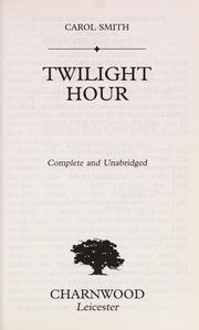 Cover of: Twilight hour