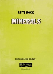 Cover of: Minerals | Richard Spilsbury