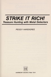 Cover of: Strike it rich! | Peggy Ann Hardigree