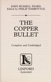 Cover of: The copper bullet
