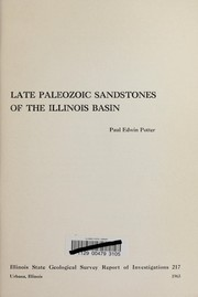 Cover of: Late Paleozoic sandstones of the Illinois Basin