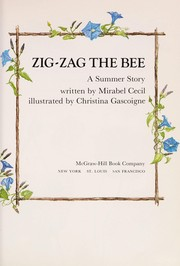 Cover of: Zig-Zag the bee | Mirabel Cecil