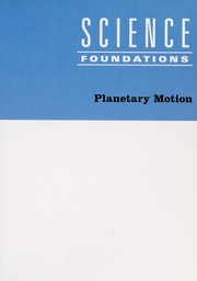 Cover of: Planetary motion