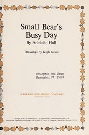 Cover of: Small Bear