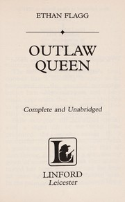 Cover of: Outlaw queen | Ethan Flagg