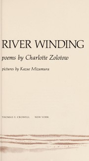 Cover of: River winding