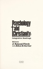 Cover of: Psychology and Christianity |