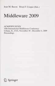 Middleware 2009