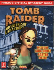Cover of: Tomb Raider III: Official Strategy Guide