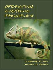 Cover of: Operating Systems Principles | Lubomir F. Bic