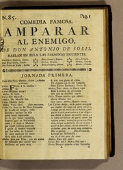 Cover of: Amparar al enemigo