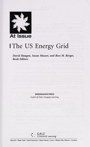 Cover of: The US energy grid