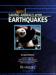 Cover of: Saving animals after earthquakes | Joyce L. Markovics