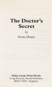 Cover of: The doctor's secret