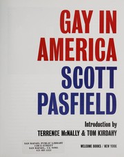 Cover of: Gay in America