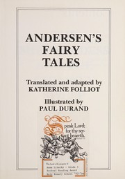 Cover of: Andersen's fairy tales | Katherine Folliot