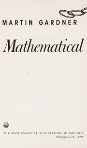 Cover of: Mathematical magic show: more puzzles, games, diversions, illusions & other mathematical sleight-of-mind from Scientific American