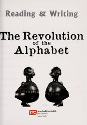 Cover of: The revolution of the alphabet
