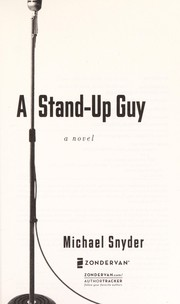 Cover of: A stand-up guy