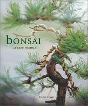 Cover of: Bonsai | Colin Lewis