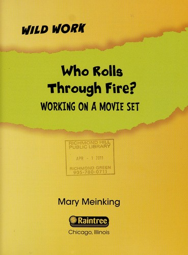 Who rolls through fire? by Mary Chambers