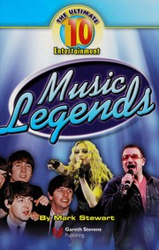 Cover of: Music legends | Stewart, Mark