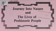 Cover of: Journey into nature and the lives of prehistoric people | Illinois State Museum