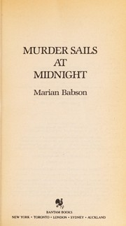 Cover of: Murder sails at midnight