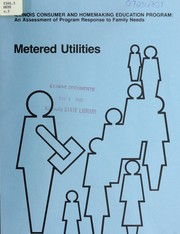 Cover of: Metered utilities | University of Illinois at Urbana-Champaign. Cooperative Extension Service