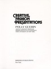 Cover of: Creative Fashion Presentations