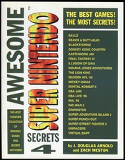 Cover of: Awesome Super Nintendo Secrets 4
