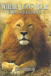 Cover of: Where Lions Roar