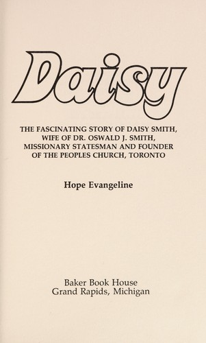 Daisy by Hope Evangeline.