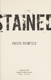 Cover of: Stained | C. A. Rainfield