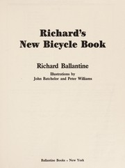 Cover of: Richard's new bicycle book