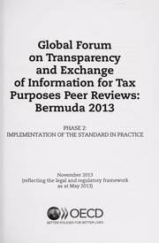 Cover of: Global Forum on Transparency and Exchange of Information for Tax Purposes peer reviews | Organisation for Economic Co-operation and Development