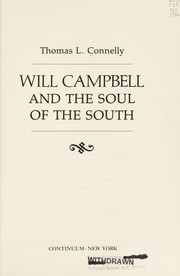 Cover of: Will Campbell and the soul of the South
