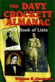 Cover of: The Davy Crockett almanac and book of lists
